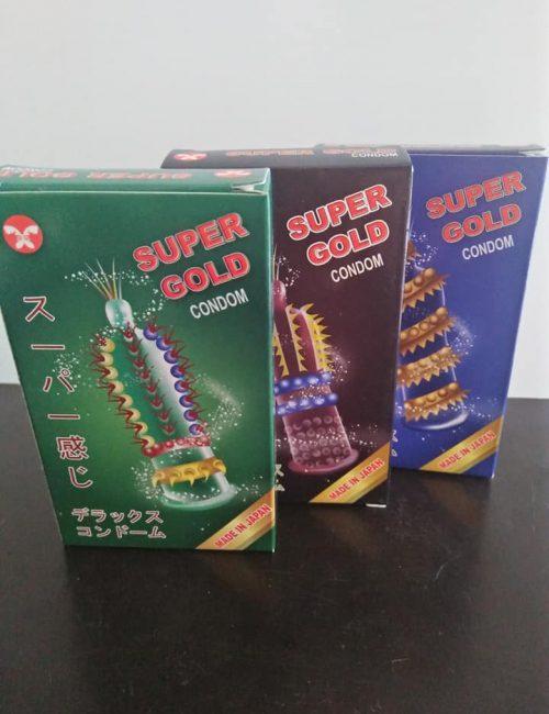 Bao cao su Super Gold bán tại Đà Nẵng