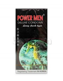 Bao cao su Power men Long Shock type