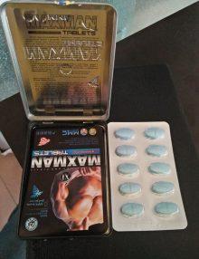 Thuốc uống Maxman 3800 cương dương bán tại Đà Nẵng