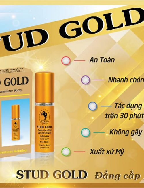 Chai xịt stud gold bán tại Đà Nẵng