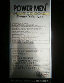 Bao cao su power men cá ngựa bạc bán tại Đà Nẵng