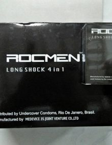 Bao cao su Rocmen 4in1 hộp 3 cái bán tại Đà Nẵng
