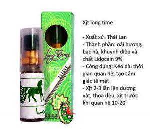 Thuốc xịt kéo dài thời gian quan hệ bán tại Đà Nẵng
