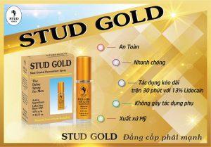 Chai xịt stud gold chống xuất tinh sớm bán ở đà nẵng