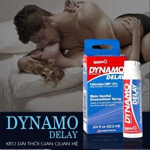 Chai xịt Dynamo Delay chống xuất tinh sớm
