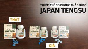 Cách phân biệt thuốc cương dương Tengsu Nhật bản thật giả chính hãng